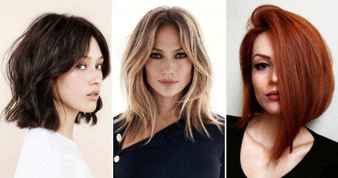 Волосы до плеч – кому идут и как подобрать стильную прическу?