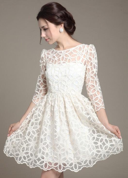 a64f2b2e29a белые платья из хлопка с кружевом 2