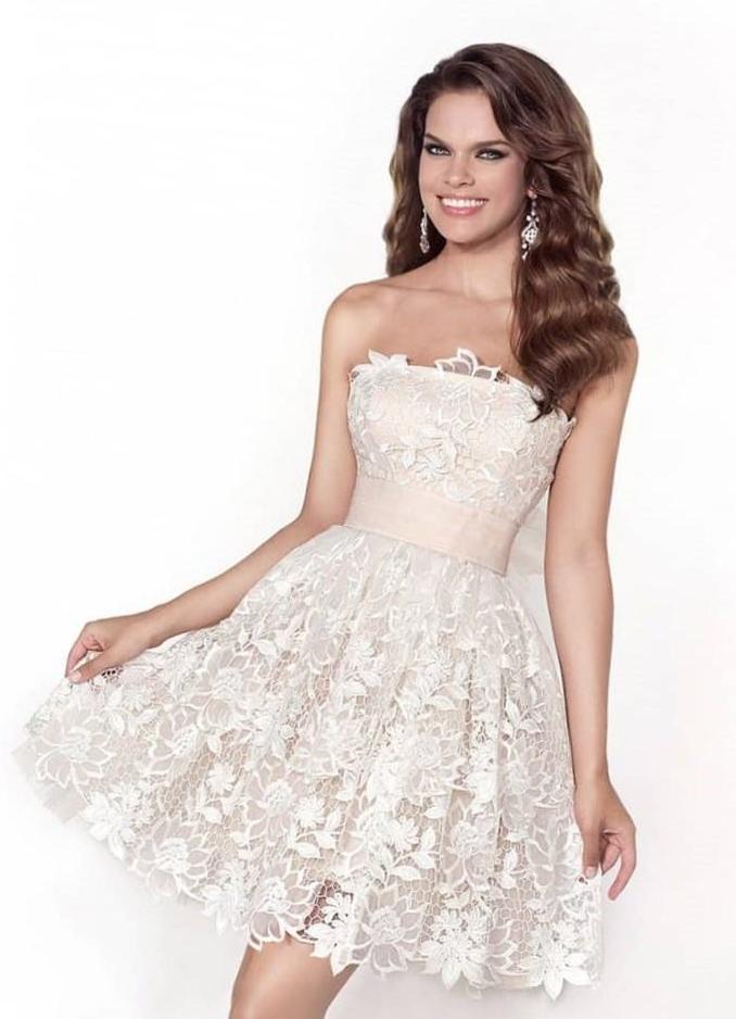 aacd03037ca Короткое белое платье на выпускной 1 ...