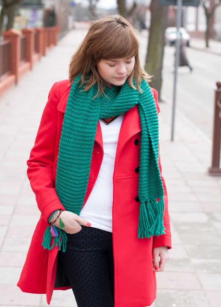 шарф к красному пальто фото могу сказать, что