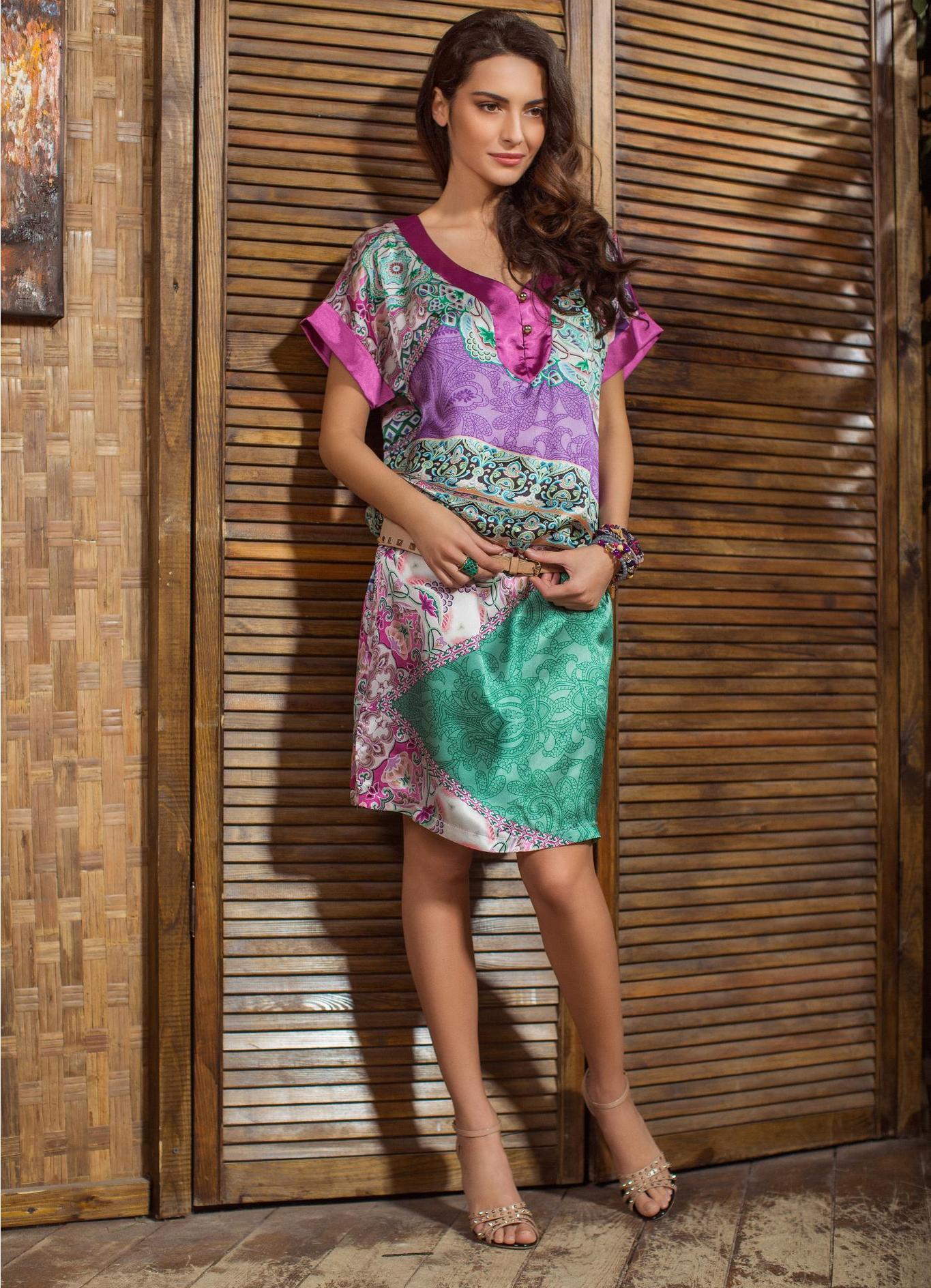 bce7e092078 летнее платье из шелка 1 ...
