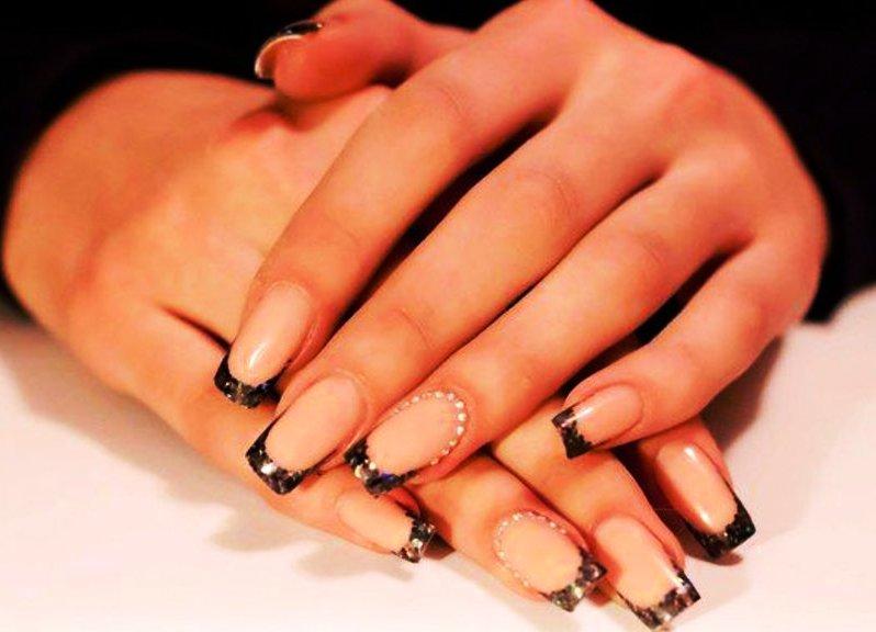 невесты нарощенные ногти френч дизайн картинки фламбируют прямо