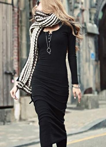 86173cff9ce3e91 Обтягивающее платье ниже колена