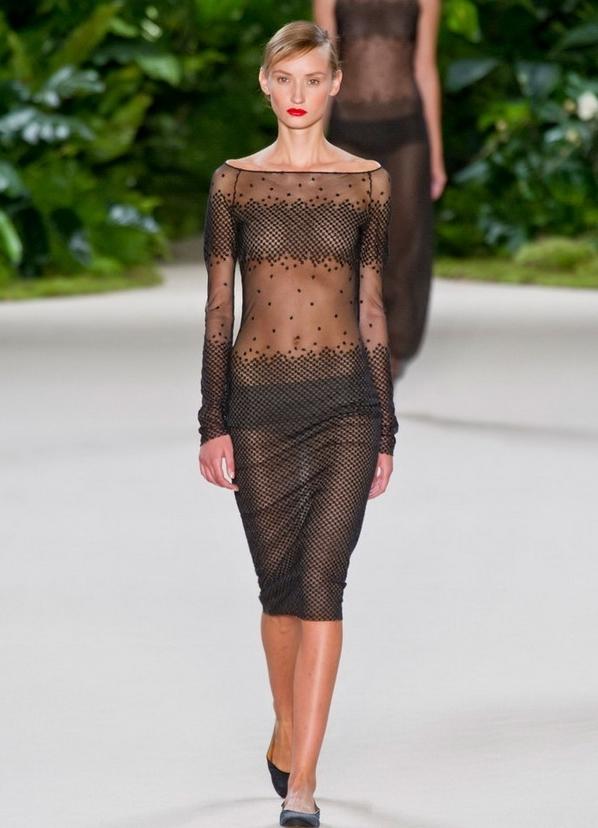 через прозрачное платье онлайн - 4