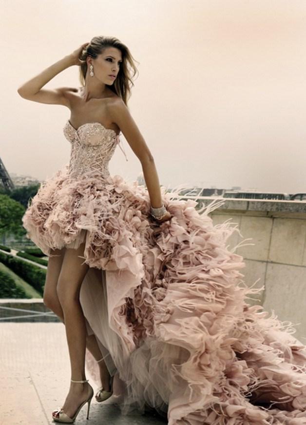 fb62d7b962e8f02 ... свадебное платье спереди короткое сзади длинное 9