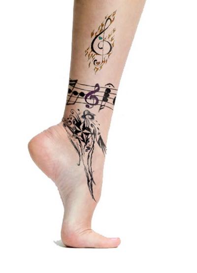 Татуировки на Лодыжке для девушек Женские Тату вокруг 56