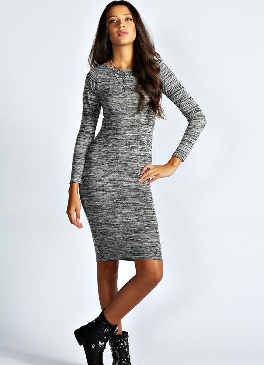 7c0dd00e4ef трикотажное платье в обтяжку 4