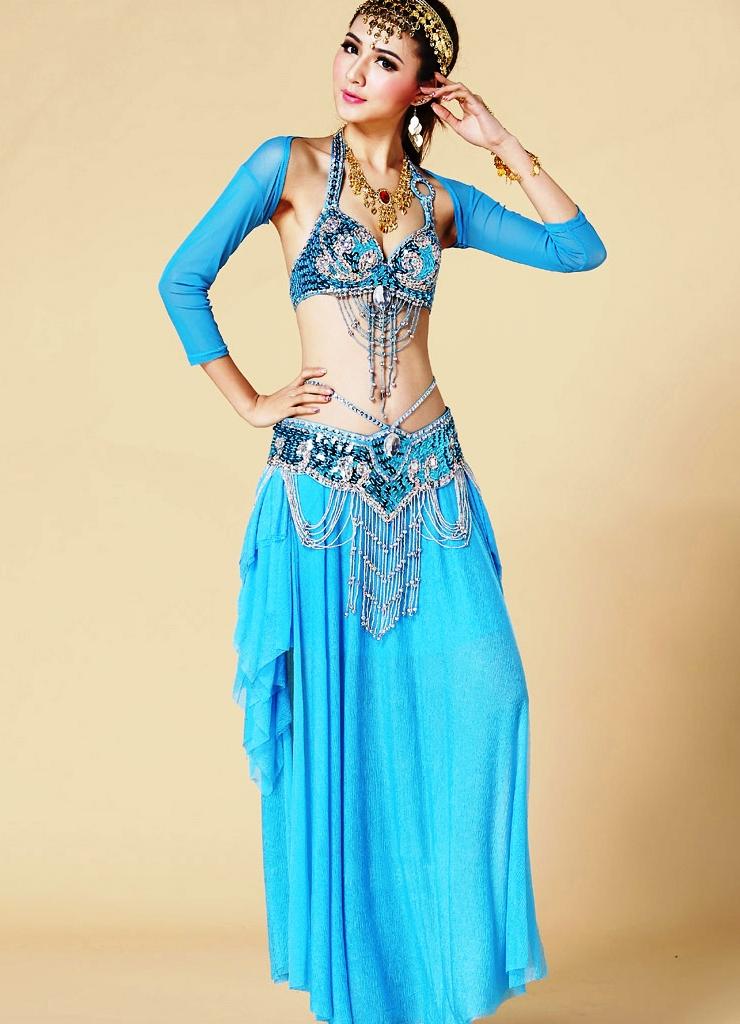 Восточные костюмы с цветами фото
