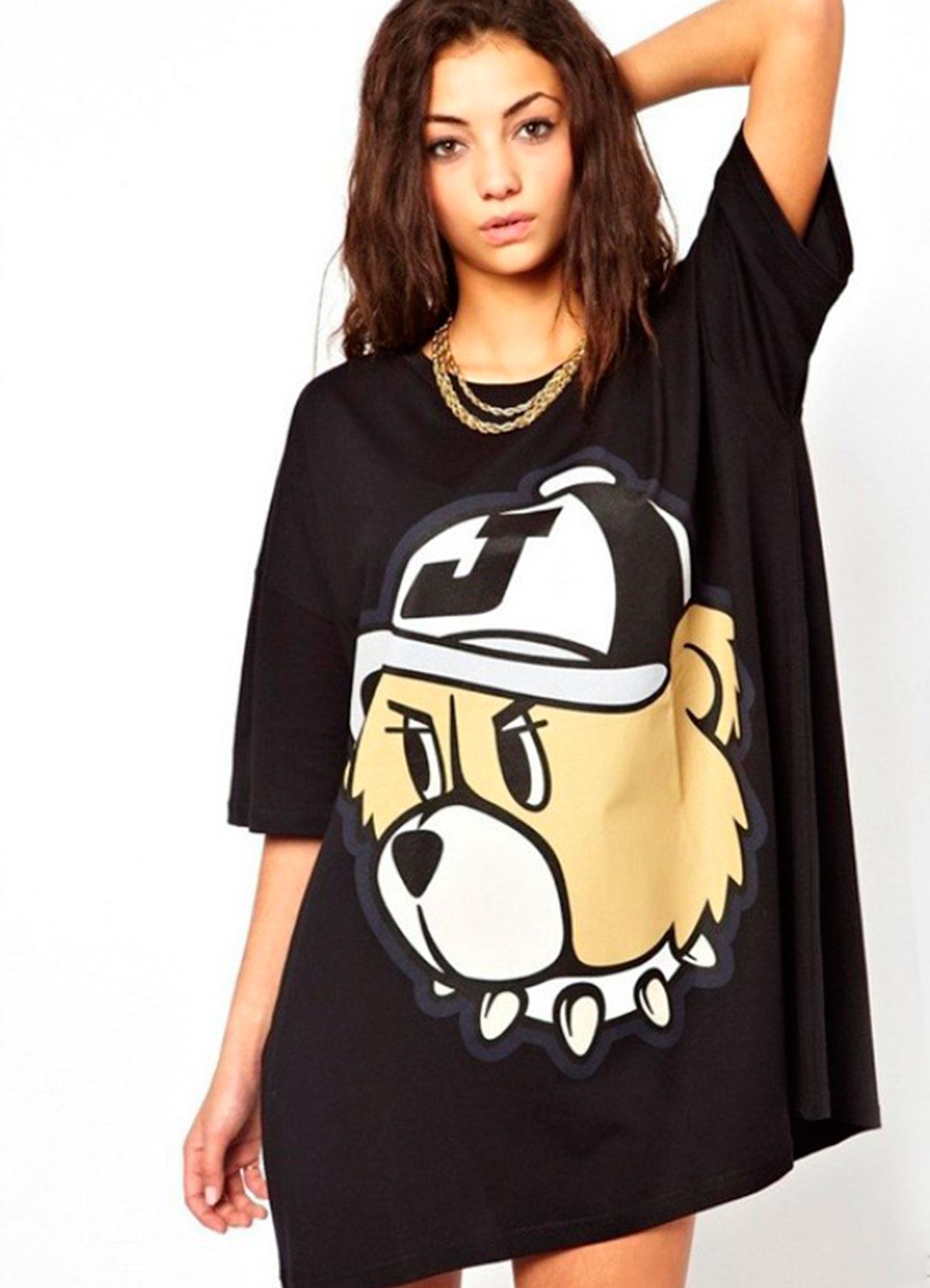 bd45aa3648f55 Женская длинная футболка