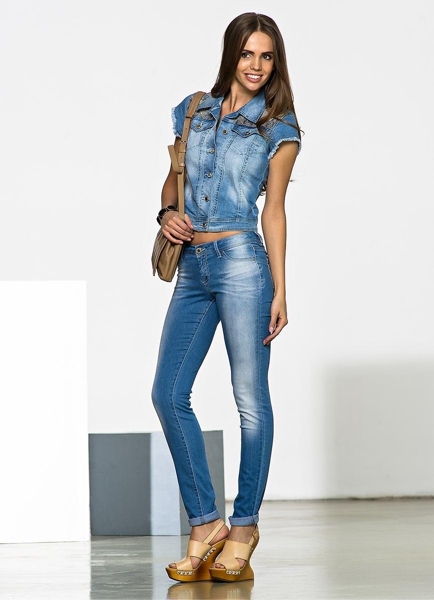конверта джинсовые костюмы женские фото время арене
