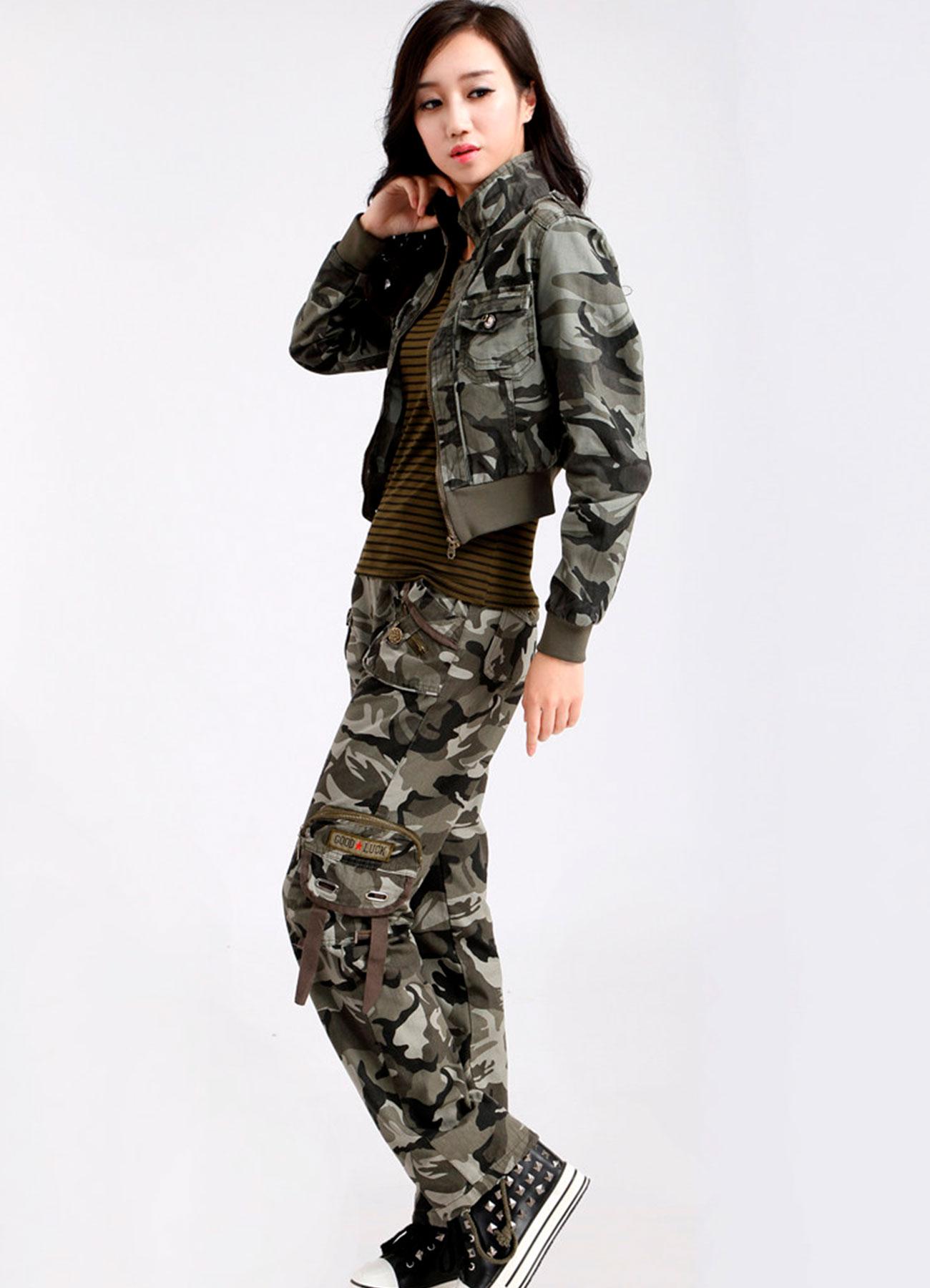 женские камуфляжные костюмы фото что делать тем