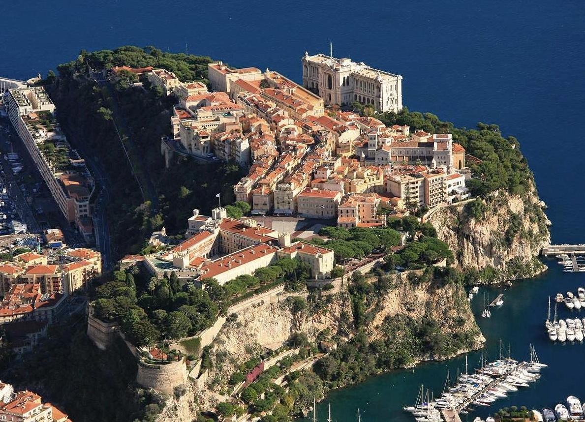 Монако: Старый город Монако-Вилль