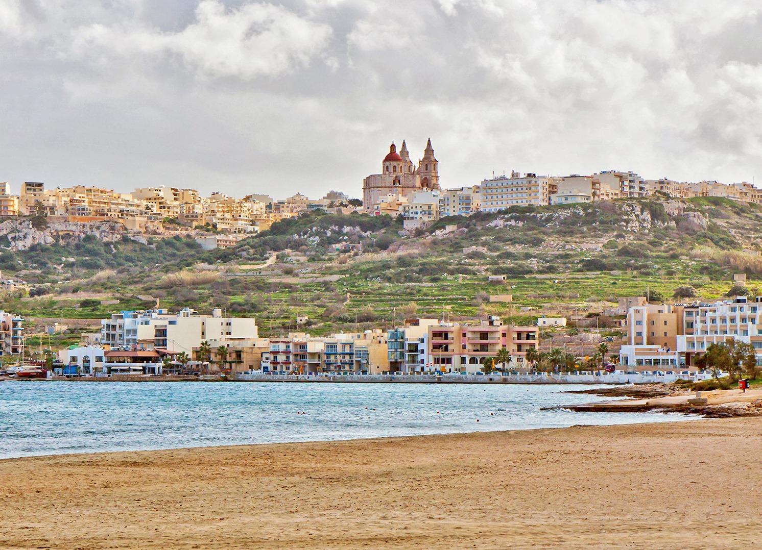Пляжи Мальты: ну, и где купаться будем? • Мальтийский вестник