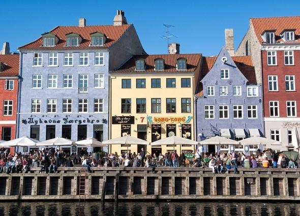 Копенгаген – самый крупный город и столица Дании