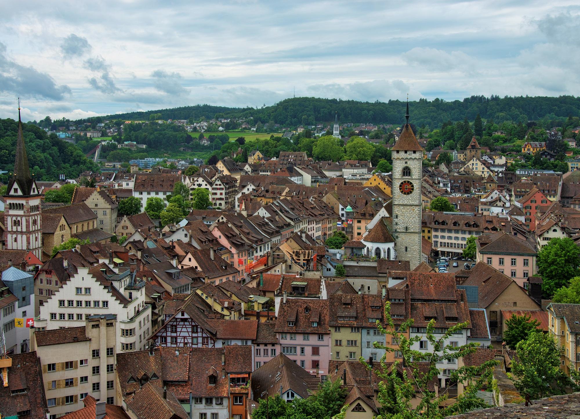 Город Шаффхаузен Швейцария что посмотреть и как добраться
