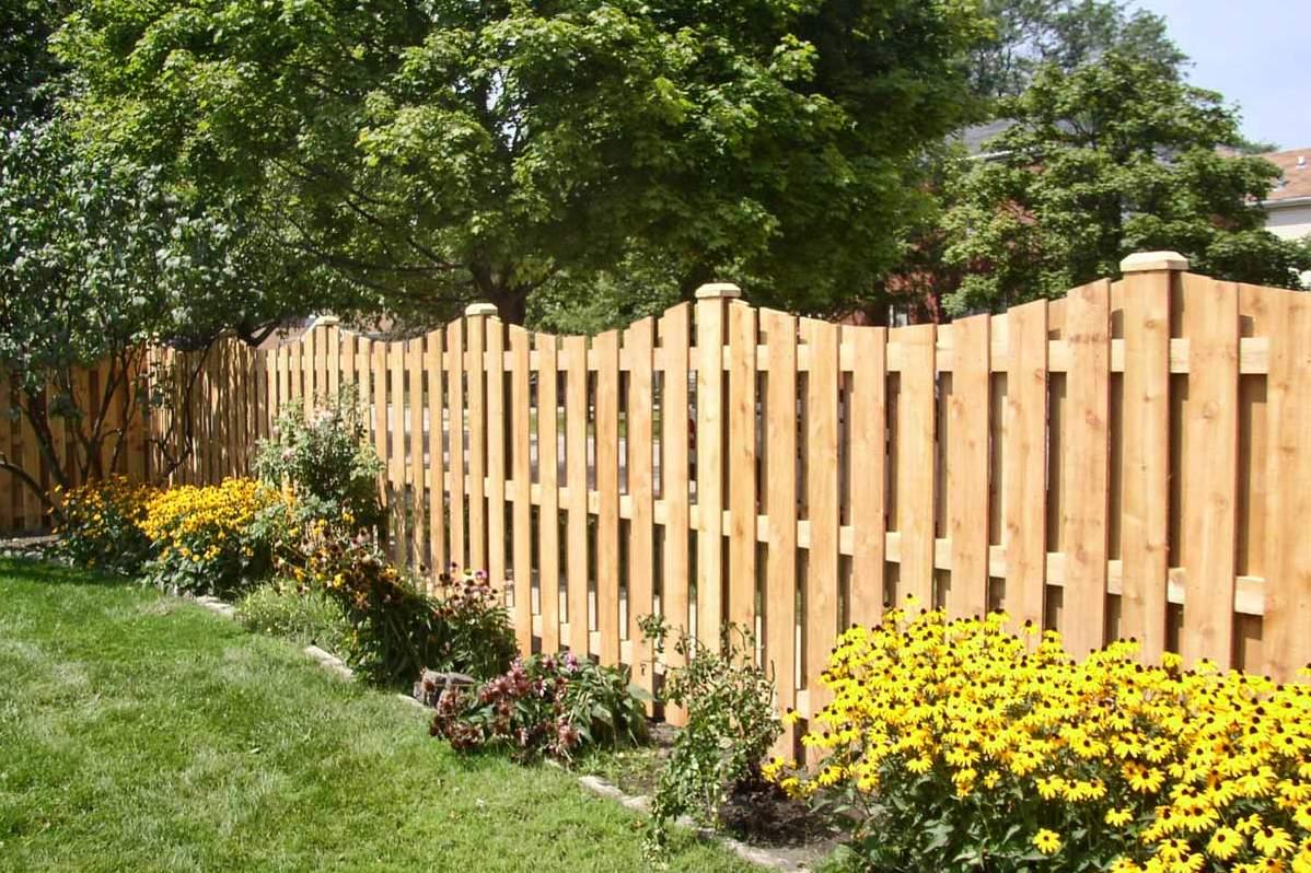 Как сделать деревянный забор своими руками фото 719