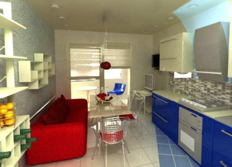 маленькие диваны для кухни