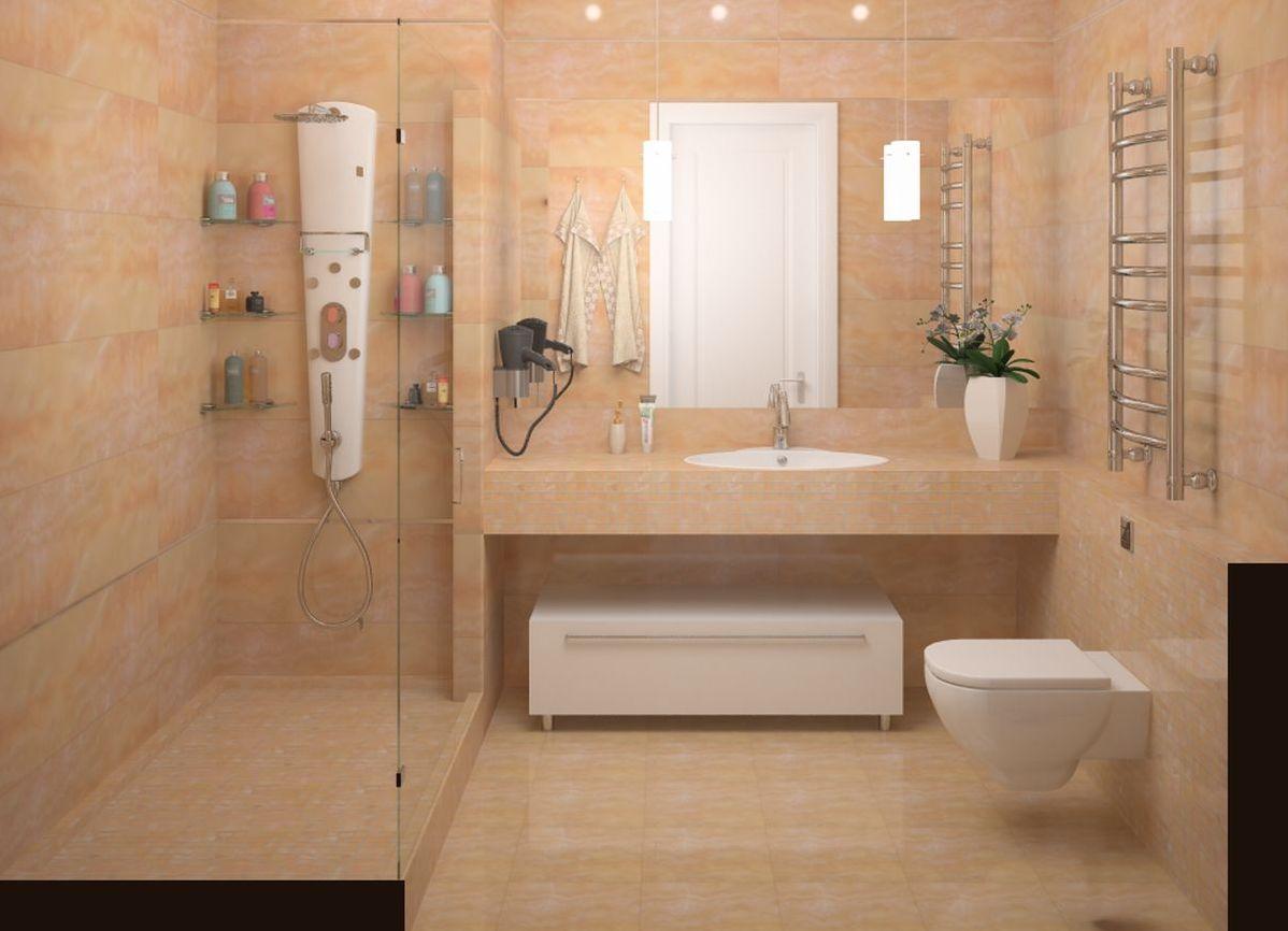 Варианты планировка ванной комнаты Шторка на ванну Vegas Glass ZV 0170 05 01 профиль бронза, стекло прозрачное