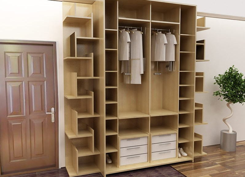узкий шкаф для обуви в прихожую