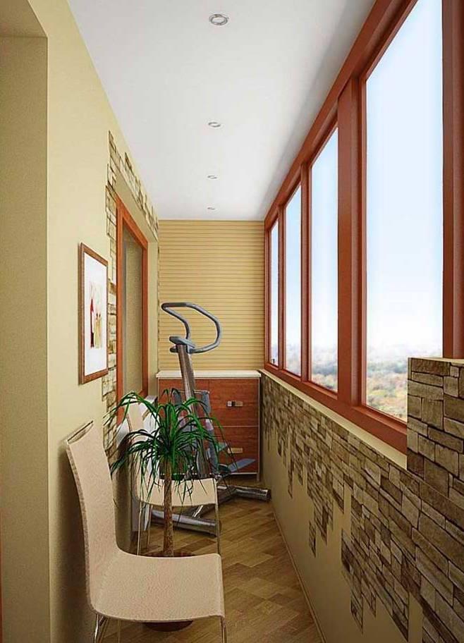 Дизайн балкона 2018 (109 фото современные идеи интерьера)
