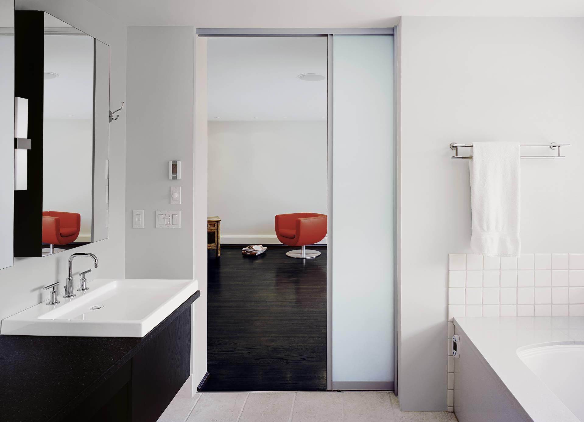 Интерьер туалета: 85 свежих идей дизайна ( 59