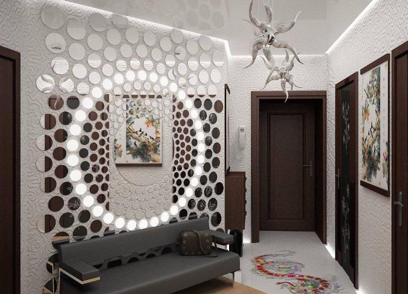 стены плиткой дизайна фото