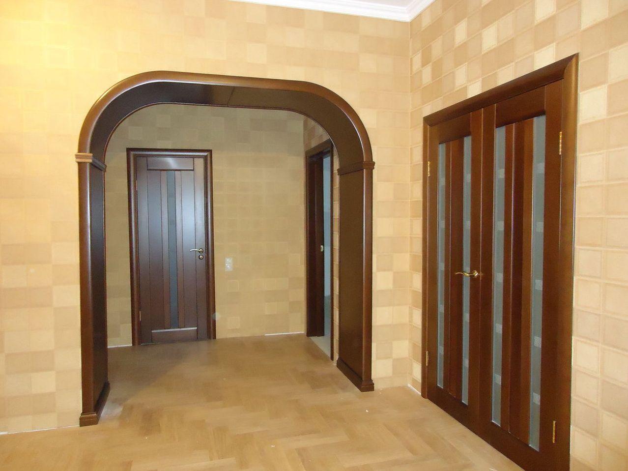 арка рядом с дверью фото облегчения этой работы