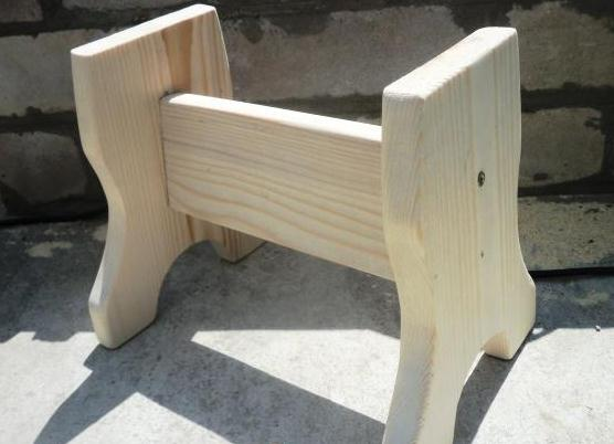 Скамейки табуретки из дерева своими руками
