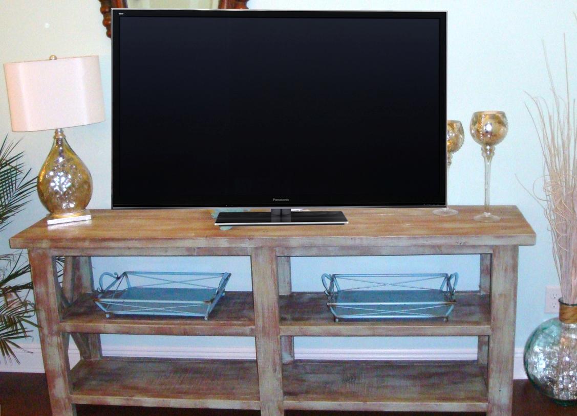 руками своими столик телевизора для