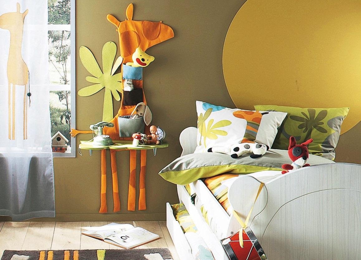 Как украсить детскую комнату своими руками картинки