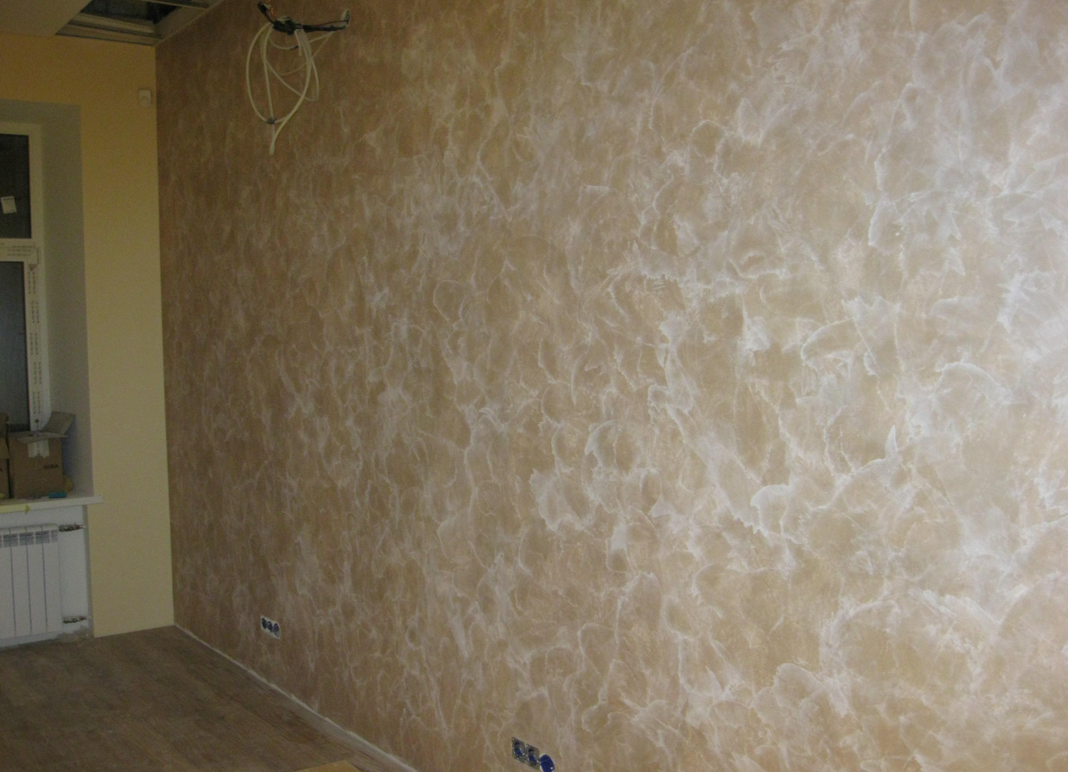 краска декоративная для стен фото