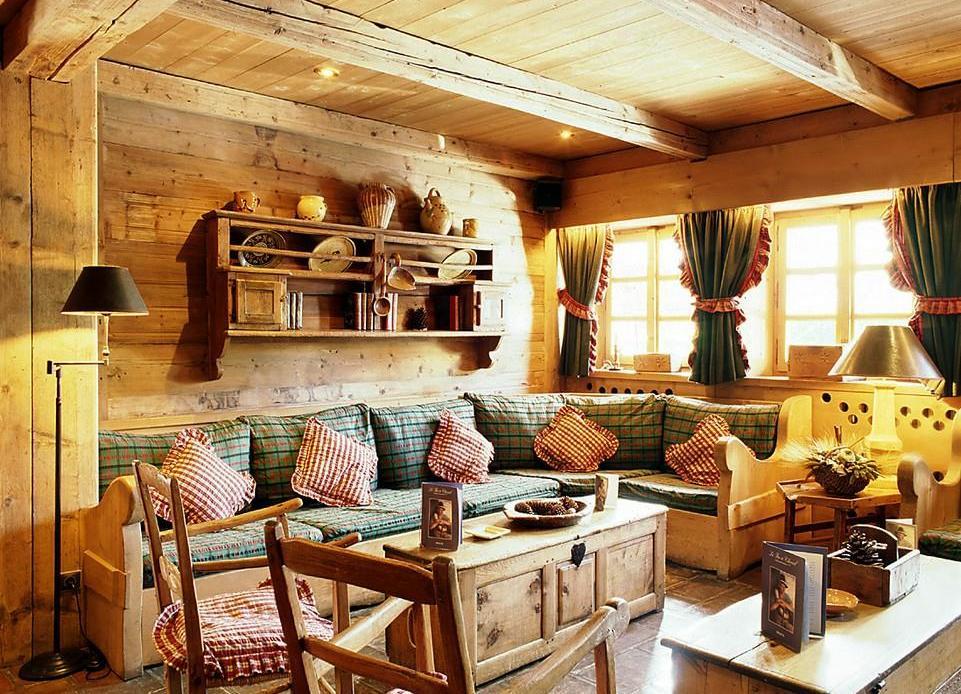 интерьеры в деревенском стиле картинки старом