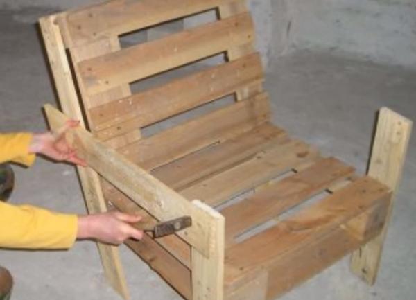 Сделать простое кресло своими руками фото 780