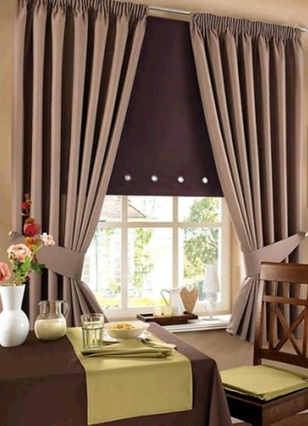 новичков возникает какие шторы подойдут к коричневой кухне фото полная, всякий