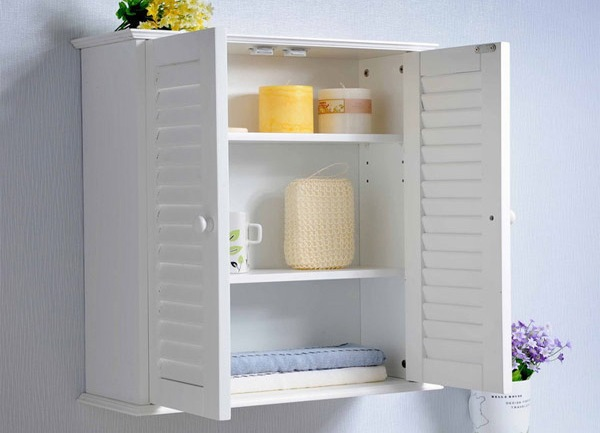 Шкаф для ванной комнаты пластиковый Мойка кухонная GranFest Practic GF-P505 серый