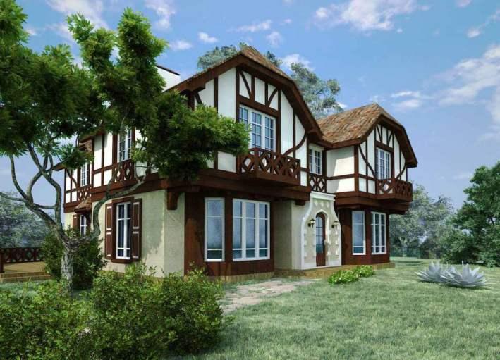 Дом в немецком стиле Дома в Немецком Стиле