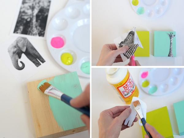 Как украсить комнату своими руками картинками 13