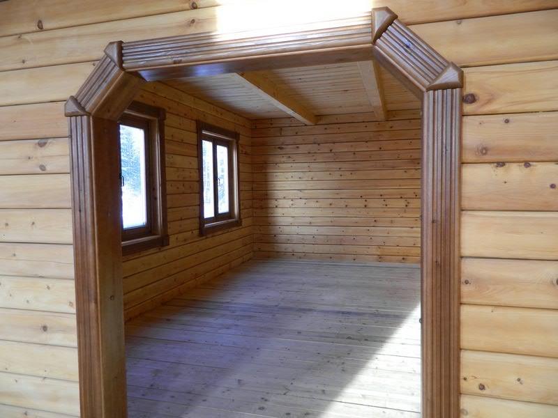 арка в деревянном доме из бруса фото регулярное прохождение различных