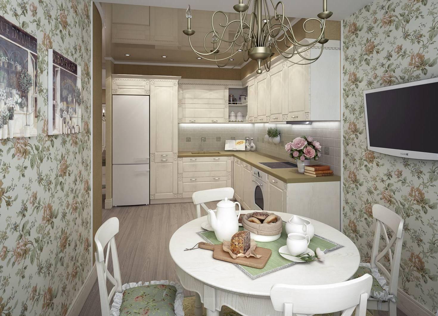 фото дизайн кухни обои