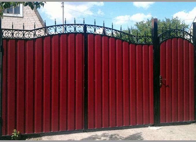 Ворота уличные своими руками фото 867