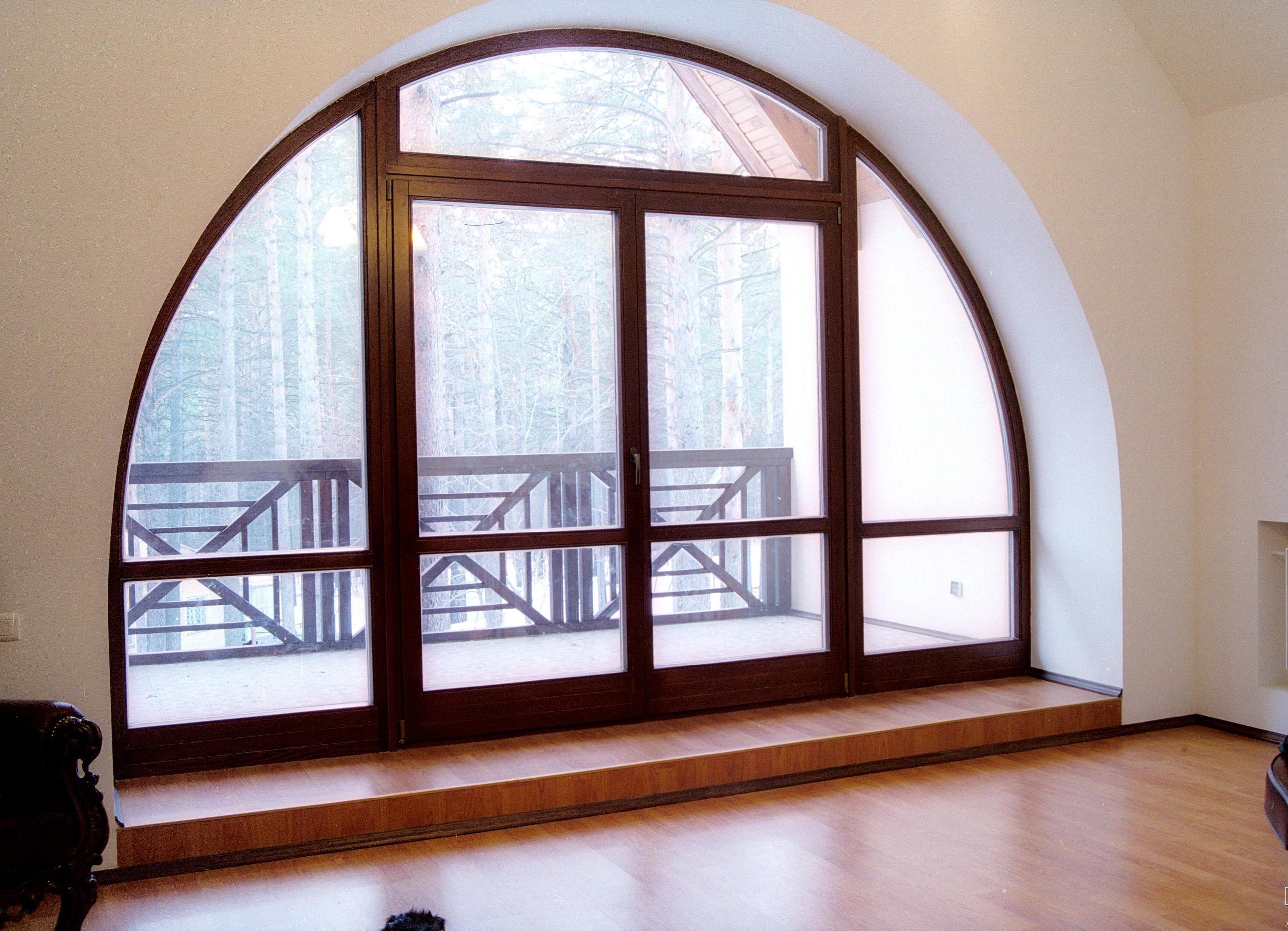Арочные окна картинки