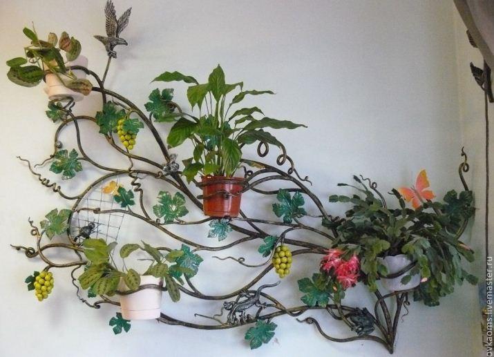 Кованые подставки для цветов Купить подставки для цветов в Уфе