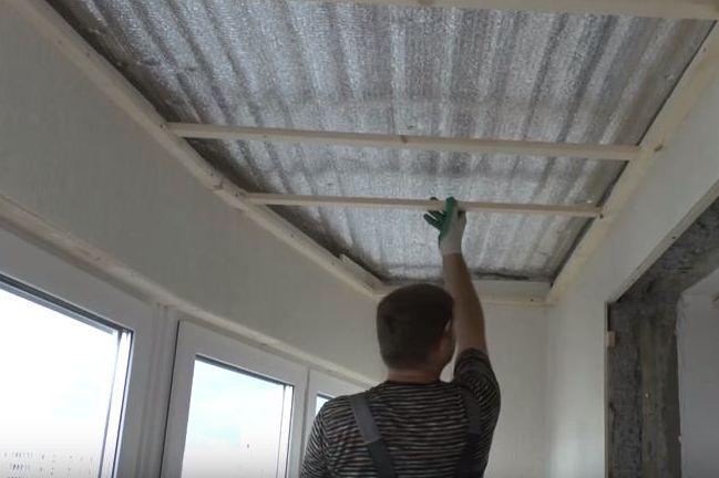 Как сделать пластиковые панели потолок фото 587