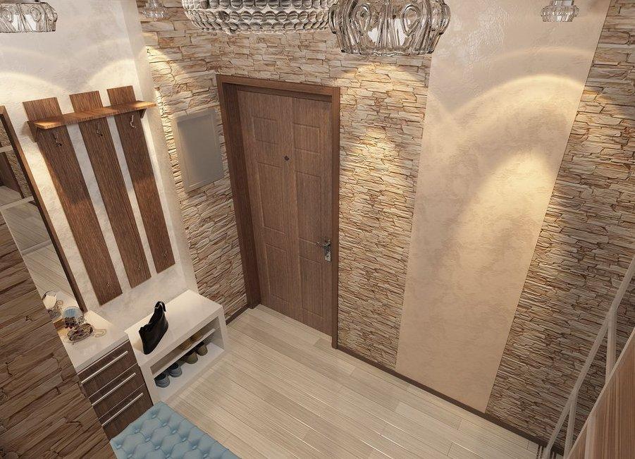 дизайн коридора с декоративной штукатуркой фото сообщает известия
