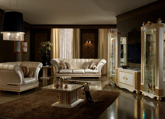 мягкая мебель для гостиной в классическом стиле