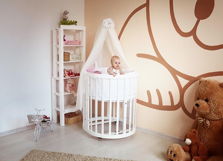 Что касается высоты бортиков такой мебели — в большинстве моделей их можно регулировать по своему усмотрению.