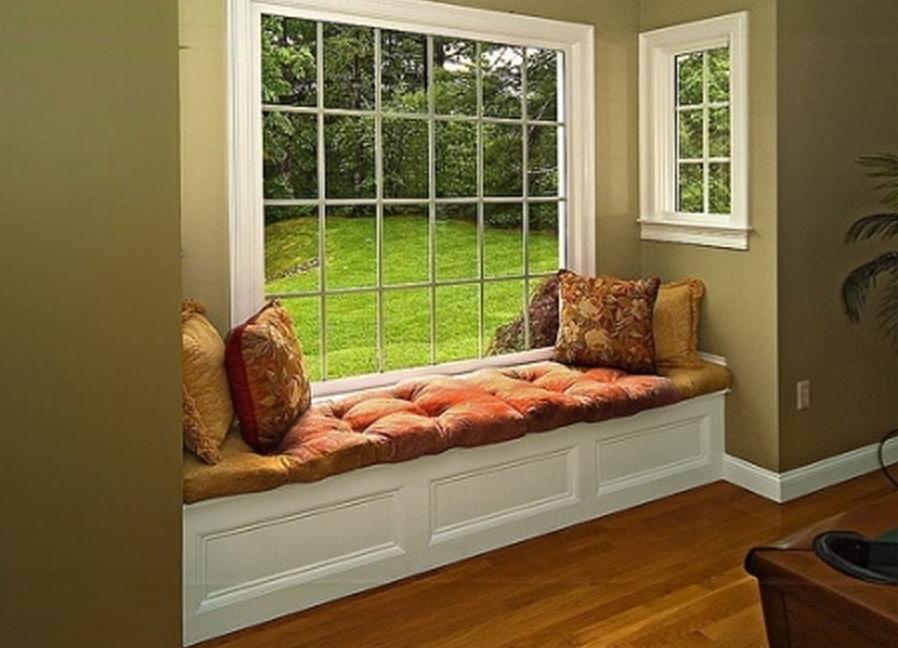 подоконник как диван в квартире фото клещ морской