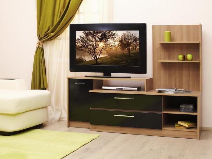Дизайн подставок под телевизор 155