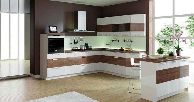 кухонный гарнитур преимущества разных материалов и особенности дизайна