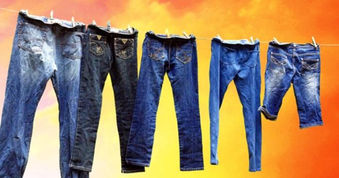 Можно ли стирать джинсы с другими вещами